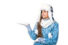 Descuentos del invierno Lugar para el texto Imagen de archivo libre de regalías