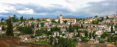 Desde Альгамбра Albaicin Стоковая Фотография