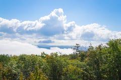 Desde arriba de la montaña de Schunemunk imágenes de archivo libres de regalías