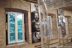 19/92 Desde o início Exposição de arte moderna em Moscovo Imagens de Stock Royalty Free