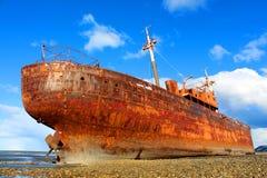 Desdemona ship wreck Stock Image