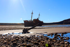 Desdemona ship wreck Stock Photography
