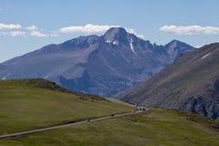 Desea el pico del rastro Ridge Road Fotografía de archivo