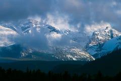 Desea el pico en Colorado Imagen de archivo