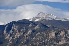 Desea el pico, Rocky Mountain National Park Fotos de archivo
