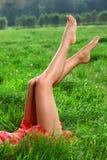 Desean las piernas Foto de archivo libre de regalías