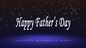 Desear el clip feliz del día de padre stock de ilustración