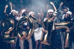 Desear una Feliz Año Nuevo Imagenes de archivo
