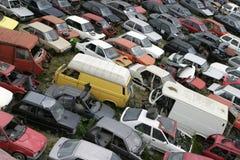 Desecho auto Foto de archivo libre de regalías