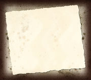 Desecho de papel rasgado Fotografía de archivo libre de regalías