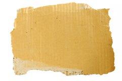 Desecho viejo de la cartulina Imágenes de archivo libres de regalías