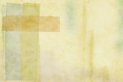 Desechos de papel de Grunge del fondo Fotografía de archivo