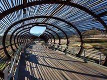 Deseczka tunel Zdjęcia Stock