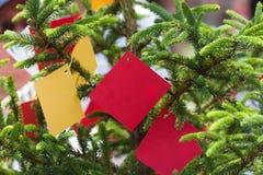 Desejando a árvore Imagem de Stock Royalty Free