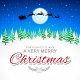 Desejando lhe o Feliz Natal de A muito Foto de Stock Royalty Free
