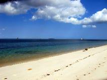 Desejando para o oceano Imagem de Stock Royalty Free