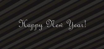 Desejando um ano novo feliz Imagem de Stock