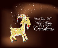 Deseje-lhe todo o Natal muito feliz Fotografia de Stock