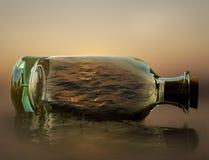 Deseje que eu poderia capturar a natureza em uma garrafa fotos de stock
