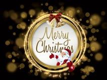 Desejo colorido do Natal Fotografia de Stock Royalty Free