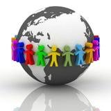 Desejo da cooperação Imagens de Stock