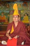 Desejo da monge de Tibet para outro foto de stock royalty free