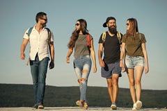 Desejo por viajar, férias, curso, caminhando imagem de stock royalty free