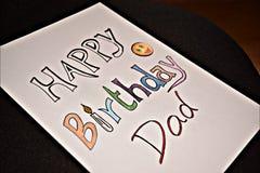 Desejos do aniversário Fotografia de Stock