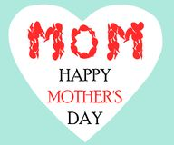 Desejos do dia de mãe Imagens de Stock