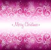 Desejos do Natal Imagens de Stock