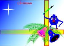 Desejos do Natal Imagem de Stock Royalty Free