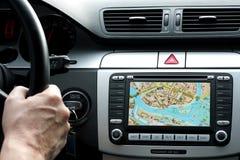 desek rozdzielczych samochodowi gps rozdzielać małego zdjęcie royalty free