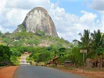 楠普拉,莫桑比克- 6个DESEMBER 2008年:村庄,公寓ho 库存图片