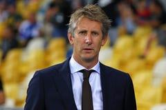 Desempate da liga de campeões de UEFA: FC Dynamo Kyiv v Ajax fotos de stock royalty free