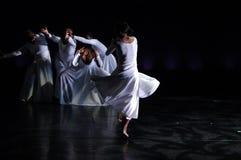 Desempenho 1 da dança moderna Foto de Stock Royalty Free