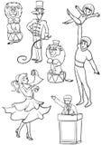 Desempenho Ilustração Royalty Free