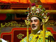 Desempenho chinês da ópera Foto de Stock Royalty Free