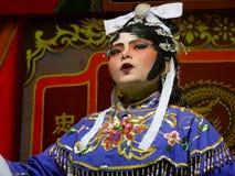 Desempenho chinês da ópera Fotografia de Stock