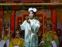 Desempenho chinês da ópera Foto de Stock