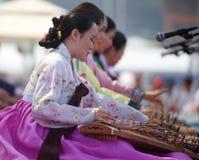 Desempenho coreano do coro de Julsori Imagens de Stock Royalty Free
