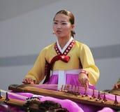 Desempenho coreano do coro de Julsori Fotos de Stock Royalty Free