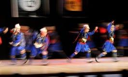 Desempenho da dança popular Fotografia de Stock Royalty Free