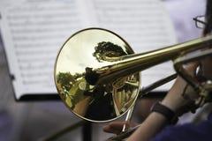 Desempenho da orquestra sinfônica Imagens de Stock Royalty Free