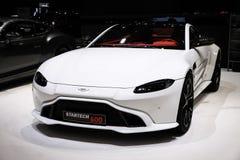 Desempenho de Asti Martin Vantage V8 Startech 600 imagens de stock