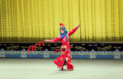 Desempenho de Opera de Pequim foto de stock royalty free