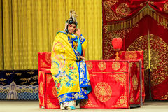 Desempenho de Opera de Pequim Fotografia de Stock