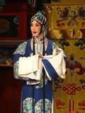 Desempenho de Peking Opera Fotografia de Stock