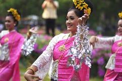 Desempenho do norte do local de Tailândia Imagens de Stock Royalty Free