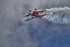 Desempenho especial do biplano de Pitts Imagem de Stock Royalty Free