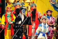 Desempenho famoso da ópera do rei do macaco fotografia de stock royalty free